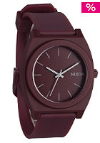 NIXON The Time Teller P matte bordeaux