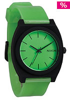 NIXON Time Teller glo green