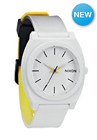 NIXON Time Teller P black/white/yellow