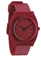 NIXON Time Teller dark red ano