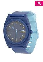 NIXON Time Teller P navy/skybluefad