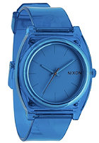 NIXON Time Teller P translucent blue