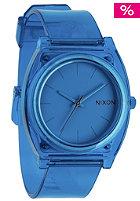 NIXON Time Teller P translucent blue