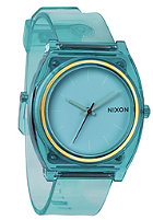NIXON Time Teller P translucent mint