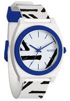 NIXON Time Teller P white/cobalt