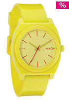 NIXON Time Teller P yellow