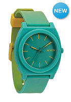NIXON Time Teller P yellowlow/tealfade