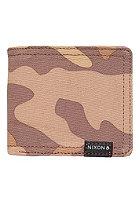 NIXON Tree Hugger Bi-Fold Wallet desert camo
