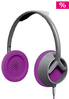 NIXON Trooper Headphones grey/rhodo