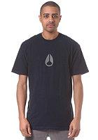 NIXON Wings S/S T-Shirt navy / gray
