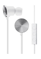 NIXON Wire 3 Button Mic Headphones 2011 white