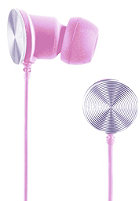 NIXON Wire 8mm Headphones pink