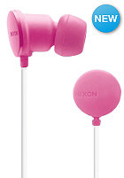 NIXON Wire P Headphones bubblegum