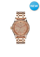 NIXON Womens 38-20 all rose gold