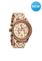NIXON Womens 38-20 Chrono all rose gold