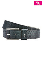 NIXON Womens Americana Belt embossed navy