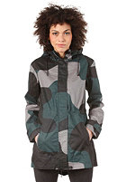 NIXON Womens Chasseur Jacket black camo