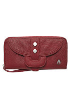 NIXON Womens Deed Wallet dark red