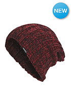 NIXON Womens Fine Day II Beanie oxblood
