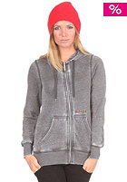 NIXON Womens Identity II Hooded Zip Sweat black heather