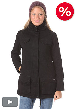 NIXON Womens Intelligence Militar Jacket black
