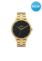 NIXON Womens Kensington all gold / black sunray