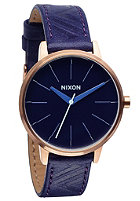 NIXON Womens Kensington Lthr cobalt/mod