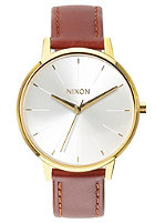 NIXON Womens Kensington Lthr gold / saddle