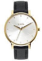 NIXON Womens Kensington Lthr gold / white / black