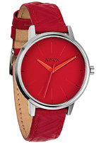 NIXON Womens Kensington Lthr red/mod