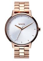 NIXON Womens Kensington rose gold / white