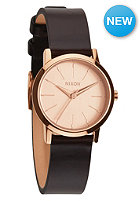 NIXON Womens Kenzi Lthr rose gold / brown