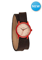 NIXON Womens Kenzi Wrap brown/coral