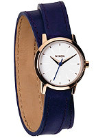 NIXON Womens Kenzi Wrap cobalt/rose gold
