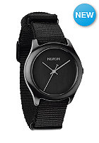 NIXON Womens Mod all black