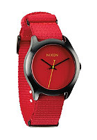 NIXON Womens Mod bright red