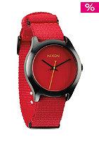 NIXON Womens Mod bright red