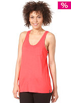 NIXON Womens Race Me Top coral