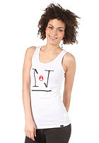 NIXON Womens Royce Tank Top white