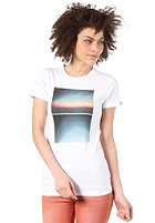 NIXON Womens Seaview S/S T-Shirt white