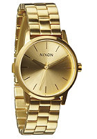 NIXON Womens Small Kensington all gold