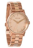 NIXON Womens Small Kensington all rose gold