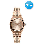 NIXON Womens Small Time Teller all rose gold