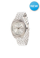 NIXON Womens Small Time Teller all silver crystal