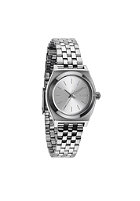 NIXON Womens Small Time Teller all silver