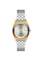NIXON Womens Small Time Teller gold/silver /silver