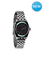 NIXON Womens Small Time Teller gunmetal / multi