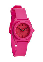 NIXON Womens Small Time Teller P hot pink