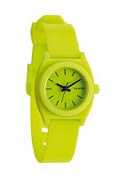 NIXON Womens Small Time Teller P lime