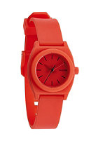 NIXON Womens Small Time Teller P red pepper